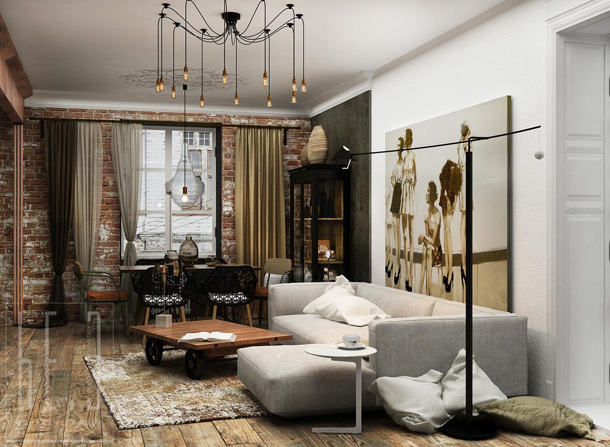 дизайн интерьера квартиры в киеве