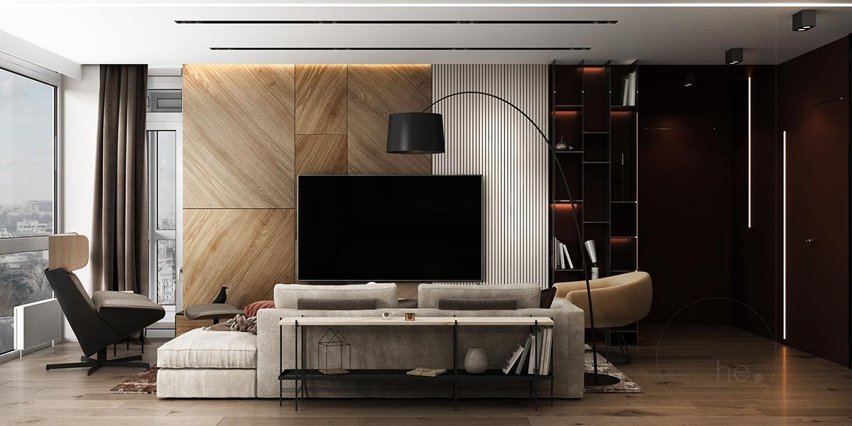 дизайн интерьера квартиры в хофман хаус