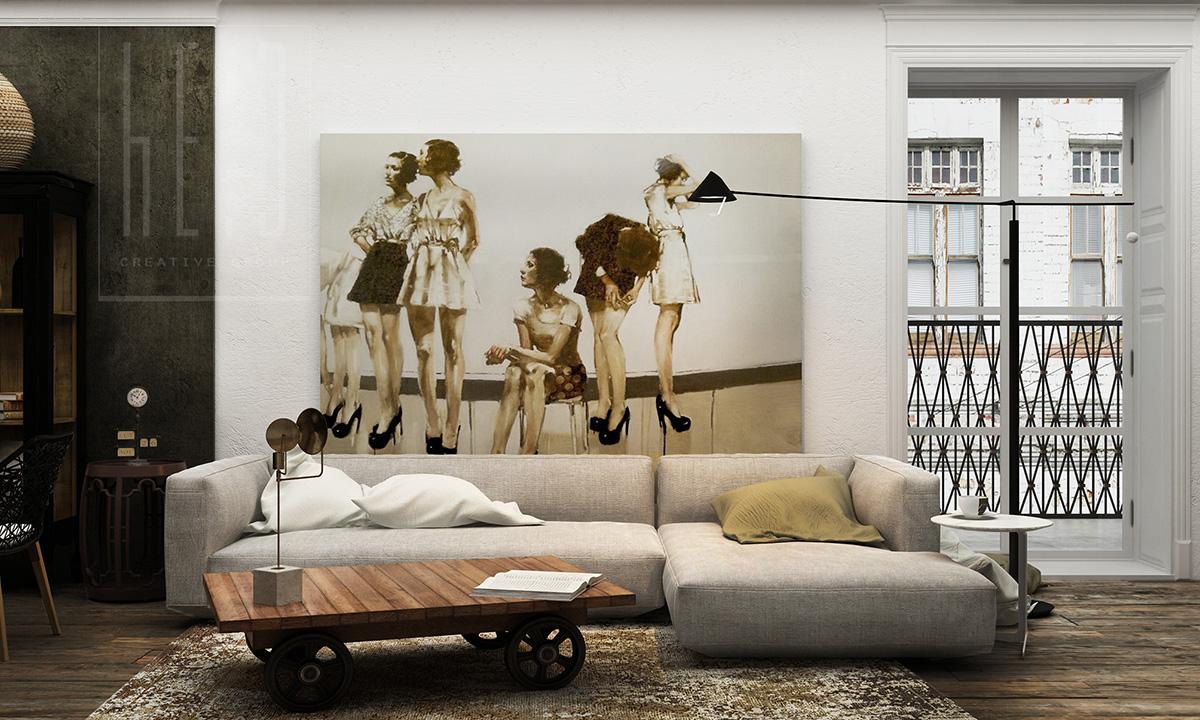 дизайн интерьера небольшой квартиры в киеве
