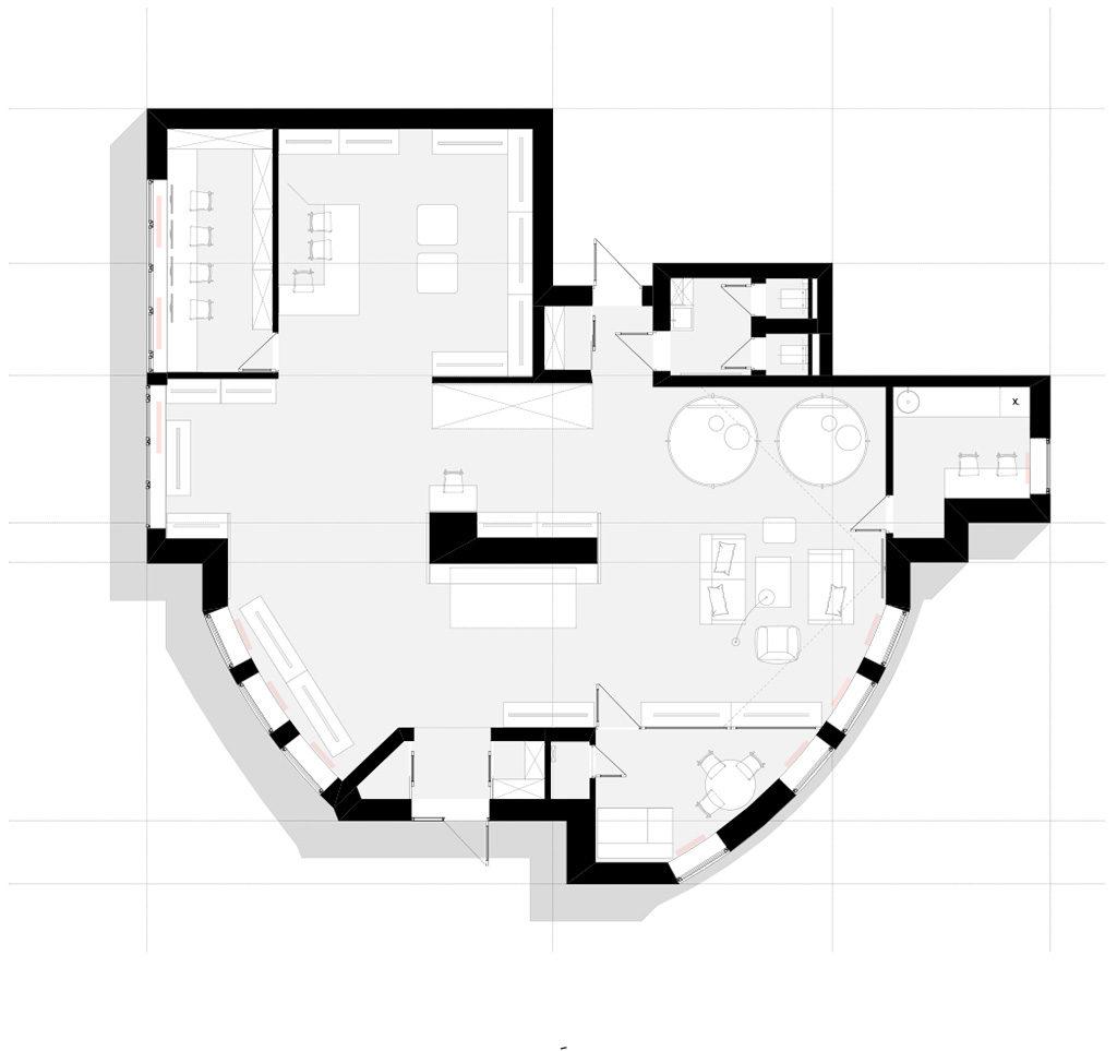 план дизайн интерьера