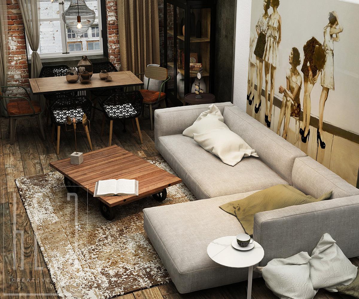 дизайн интерьеров гостиной комнаты