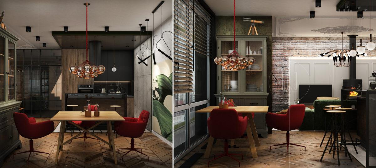 дизайн интерьера в хоффман хаус
