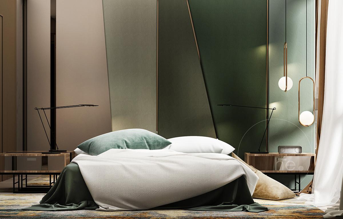дизайн интерьера в хофман хаус
